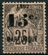 Martinique (1892) N 30 * (charniere) - Martinique (1886-1947)