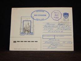 USSR 1992 Helsinki M/S Corbiere Cover__(L-32745) - 1923-1991 UdSSR