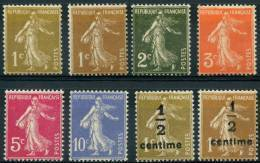 France (1932) N 277A à 279B ** (Luxe) - Unused Stamps