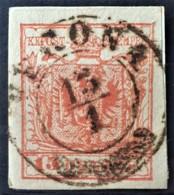 AUSTRIA / LOMBARDO-VENEZIA 1850/54 - VERONA Cancel - ANK LV3 - 15 Centes - 1850-1918 Imperium