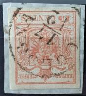 AUSTRIA / LOMBARDO-VENEZIA 1850/54 - COLOGNA Cancel - ANK LV3 - 15 Centes - 1850-1918 Imperium