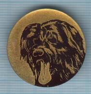 USSR / Badge / Soviet Union / RUSSIA . Fauna. Dog. - Animales
