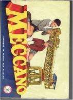 CATALOGUE MECCANO MANUEL 3 D INSTRUCTIONS 1954 - Meccano
