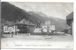 CHAMONIX - Groupe De De Saussure Et Du Guilde J. Balmat - Chamonix-Mont-Blanc