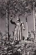 AK Hl. Niklaus Von Flüe - Statue Auf Dem Feierplatz Flüeli - Albert Wider, Widnau 1947- Bruder Klausen-Heim 1956 (45943) - OW Obwalden