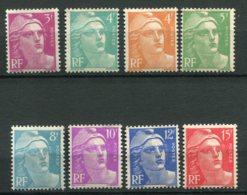 16159 FRANCE N°806/13** Marianne De Gandon   1948   TB - France