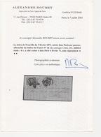 Siège Paris Après Le Siège Lettre De TROUVILLE Entrée Dans PARIS Par Passeur Rare à Cette Date - 1870 Emisión De Bordeaux