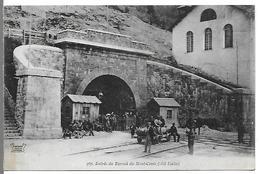 Entrée Du Tunnel Du Mont-Cenis ( Côté Italie) - France