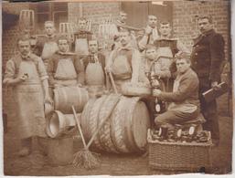 Brasserie Jespers - Photo Collée Sur Carton - Format 12.5 X 16.5 Cm - Anciennes (Av. 1900)