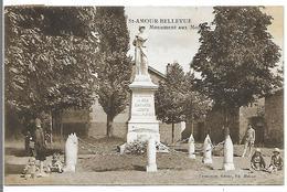 SAINT AMOUR BELLEVUE - Monument Aux Morts - Autres Communes