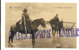 Côte Belge. Middelkerke. Les Pêcheurs De Crevettes. STAR. Hélio.art Bichrome De Graeve - Visvangst
