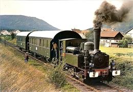 88 SNCF LE CHEMIN DE FER A VAPEUR DANS LA VALLEE DU RABODEAU - Railway