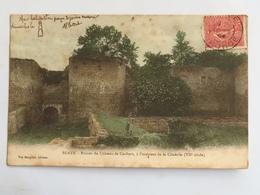 C. P. A. Couleur : 33 BLAYE : Ruines Du Château De Caribert, à L'intérieur De La Citadelle, Timbre En 1904 - Blaye