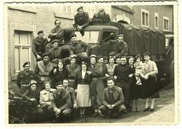 VISE ~1944 Allied Combatantes Et Personnes De Vise Carte D'evenement - Visé