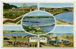 ISLE OF MAN : DOUGLAS - MULTIVIEW (TUCKS) - Isle Of Man