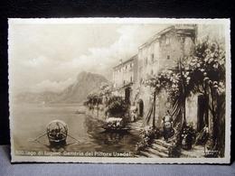 (FP.NV35) LAGO DI LUGANO - GANDRIA Del Pittore USADEL (SVIZZERA, CANTON TICINO) - TI Tessin