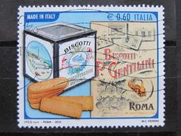 *ITALIA* USATO 2010 - GENTILINI MADE IN ITALY - SASSONE 3210 - LUSSO/FIOR DI STAMPA - 6. 1946-.. Repubblica