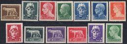 ITALIA - 1929/1930 - Lotto Composto 13 Valori Nuovi MNH: Yvert 224, 227/ 229, 231 E 234/241. - 1900-44 Victor Emmanuel III.