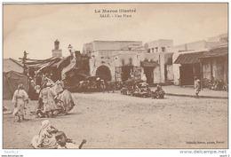 CE9 -  LE MAROC ILLUSTRE  -  SALE  -  UNE PLACE  -   ETALS  - 2 SCANS - Marokko