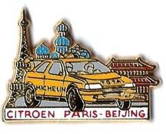 AB - C3 - CITROEN - PARIS-BEIJING - Verso :  ARTHUS BERTRAND - Arthus Bertrand
