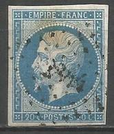 FRANCE - Oblitération Petits Chiffres LP 2844 SAVIGNY-SUR-BRAYE (Loir & Cher) - Marcophilie (Timbres Détachés)