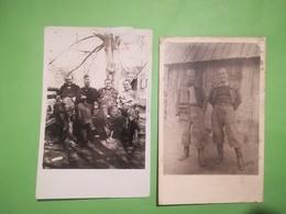 PRISONNIER GUERRE IDENTIFIÉ GUERRE 1939 - 1945 STALAG XVIIIA 2 CARTES - PHOTOS ENVOYÉ À SAINT - SERVAIS NAMUR BELGIQUE - Namen