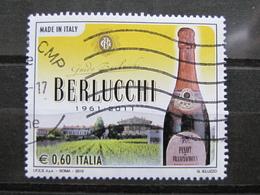 *ITALIA* USATO 2010 - BERLUCCHI MADE IN ITALY - SASSONE 3211 - LUSSO/FIOR DI STAMPA - 6. 1946-.. Repubblica