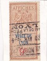 T.F D'Affichage Ville De Lyon 9 C - Fiscaux