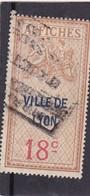 T.F D'Affichage Ville De Lyon 18 C - Fiscaux