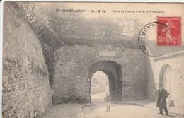 MONTLHERY  Porte De Linas Et Rue De La Fromagère - Montlhery
