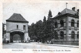 (133)  CPA  Haguenau Porte De Wissembourg - Haguenau