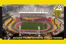 CP.STADE DE FOOTBALL.  TACHIRA  VENEZUELA  ESTADIO  POLIDEPORTIVO  DE  PUEBLO  # CS. 468 - Football