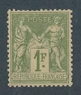 DH-12: FRANCE: Lot Avec N°82*GNO - 1876-1898 Sage (Type II)