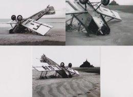 3 -  Photographies Accident D'Avion Au Mont Saint Michel 1932 - Luftfahrt