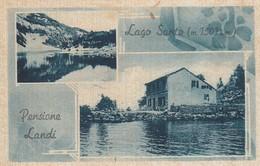 Emilia Romagna  - Modena - Pievepelago - Pensione Landi - 2 Vedute Del Lago Santo - Bella - F. Piccolo - Italy