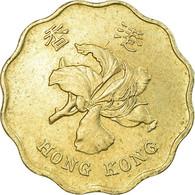 Monnaie, Hong Kong, Elizabeth II, 20 Cents, 1993, TTB, Nickel-brass, KM:67 - Hong Kong
