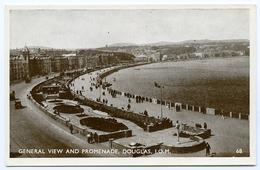 ISLE OF MAN : DOUGLAS - GENERAL VIEW AND PROMENADE - Isle Of Man