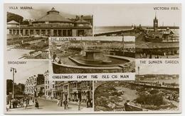 ISLE OF MAN : GREETINGS (MULTIVIEW) - Isle Of Man