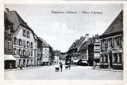 (133)  CPA  Haguenau  Place D' Armes - Haguenau