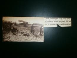 RONSE. Militair Vliegtuig - Documents Historiques