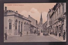 CPA Serbie Ujvidek écrite Tramway - Serbia