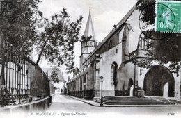 (133)  CPA  Haguenau Eglise St Nicolas - Haguenau