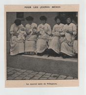 Jeunes Mères Nouvel Asile De Villepinte - Alte Papiere
