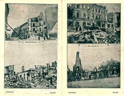 POLEN Polska 1915 2 (!!!) Deutsche FELDPOST-Karten Aus Kalisch = Kalisz WW I Zerstörungen Destroyments - Polen