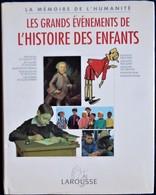 La Mémoire De L' Humanité - Les Grands Événements De L' HISTOIRE DES ENFANTS - Larousse - ( 1995 ) . - Tintin