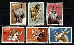 Belg. 1961 OBP/COB 1182/87** MNH Zoo Van Antwerpen / Zoo D'Anvers. - Belgium