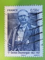 Timbre France YT 4793 - Personnalité - Gaston Doumergue - Détail Du Portrait Présidentiel - 2013 - Oblitérés