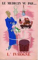 Dessin Peint Original De L Illustrateur André Giroux Format 24/15 - Gouaches