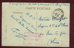 Franchise Militaire Santé * XIII Eme  Région Hôpital 82 Clermont Ferrand *  Puy-de-Dôme  Convalescent 1914 1918 - Storia Postale