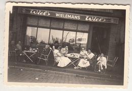 Café Wiel's Wielemans - à Situer - Te Situeren - Photo 6 X 9 Cm - Lieux